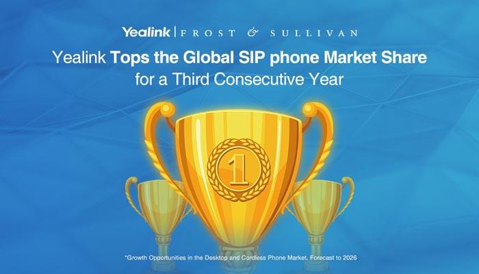 Yealink Tops the Sip Phone Market